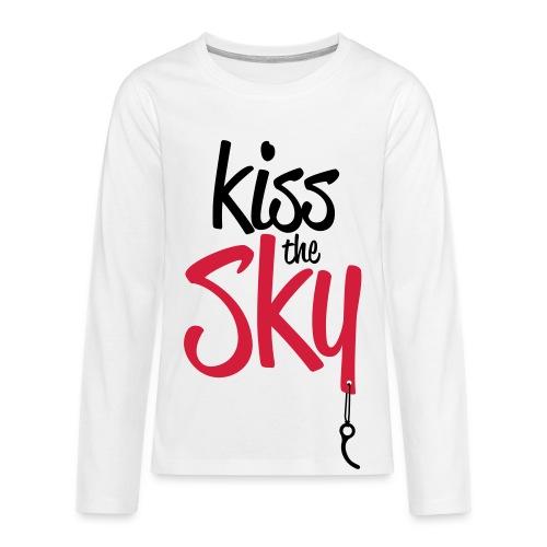 Kiss the Sky - Teenager Premium Langarmshirt