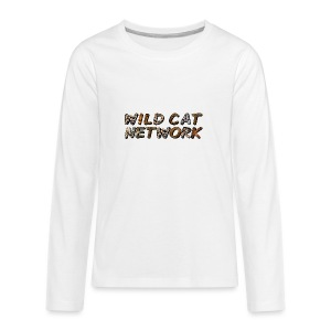 WildCatNetwork 1 - Teenager Premium Langarmshirt