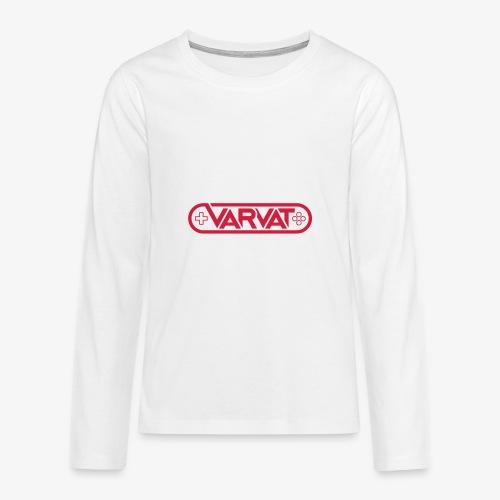 Varvat - Långärmad premium T-shirt tonåring