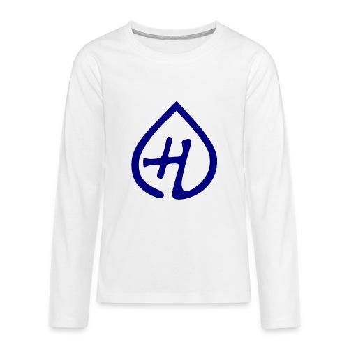Hangprinter logo - Långärmad premium-T-shirt tonåring