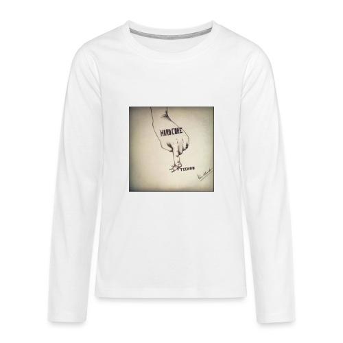 DerHardstyle.ch Hard_Core Techno - Teenager Premium Langarmshirt