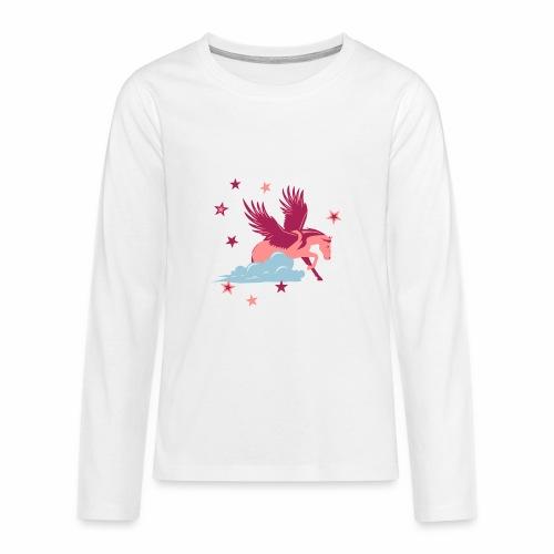 Star Pegasus - Teenager Premium Langarmshirt