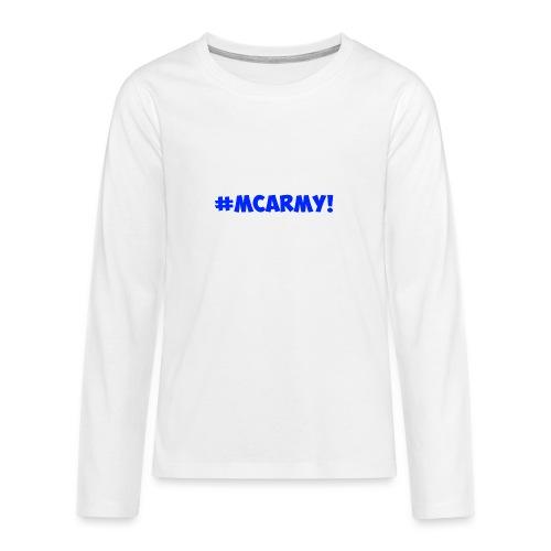 ABMC #MCARMY! - Teenagers' Premium Longsleeve Shirt