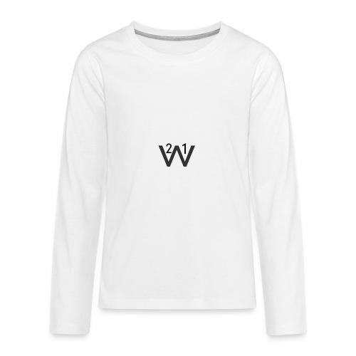 21wille Hoodie Barn - Långärmad premium-T-shirt tonåring