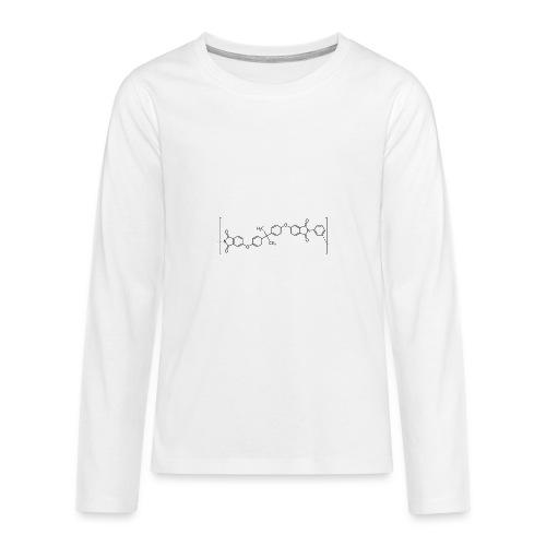 Polyetherimide (PEI) molecule. - Teenagers' Premium Longsleeve Shirt