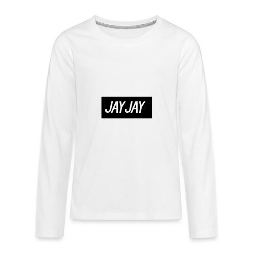Plain JayJay Logo - Teenagers' Premium Longsleeve Shirt