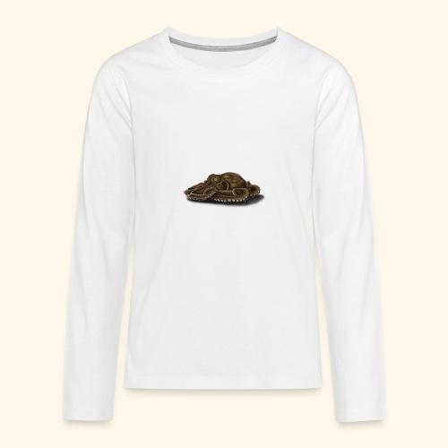 Oktopus - Teenager Premium Langarmshirt