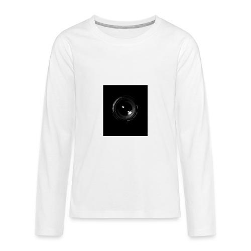 Objektiv - Teenager Premium Langarmshirt