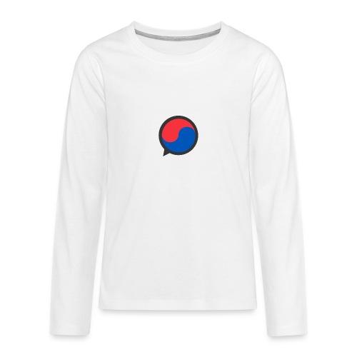 Black Icon - Teenagers' Premium Longsleeve Shirt