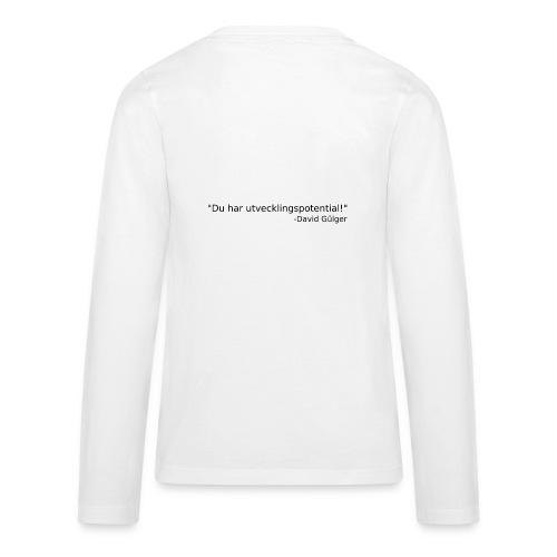 Ju jutsu kai förslag 1 version 1 svart text - Långärmad premium T-shirt tonåring