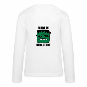 Fonster made in Ingolstadt - Teenager Premium Langarmshirt