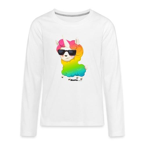 Rainbow animo - Koszulka Premium z długim rękawem dla nastolatków