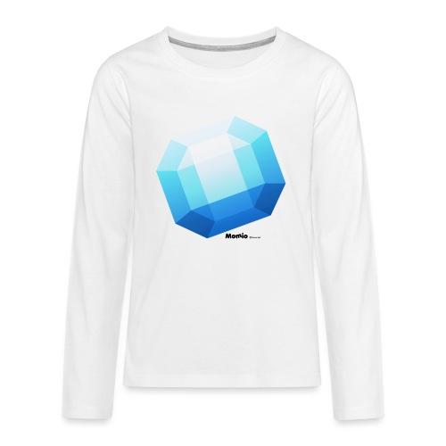 Szafir - Koszulka Premium z długim rękawem dla nastolatków