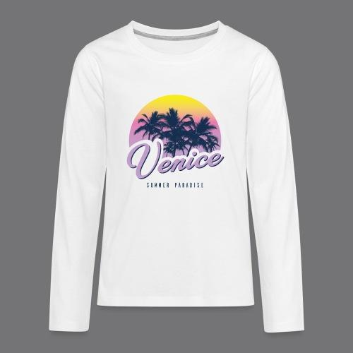 VENICE Tee Shirt - Teenagers' Premium Longsleeve Shirt