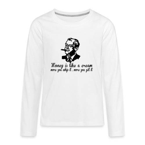Viceguy - Teinien premium pitkähihainen t-paita