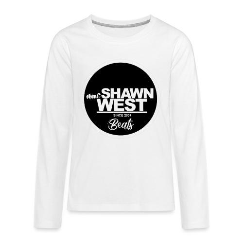SHAWN WEST BUTTON - Teenager Premium Langarmshirt