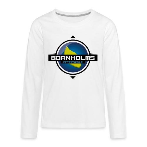 BORNHOLMS_EFTERSKOLE - Teenager premium T-shirt med lange ærmer