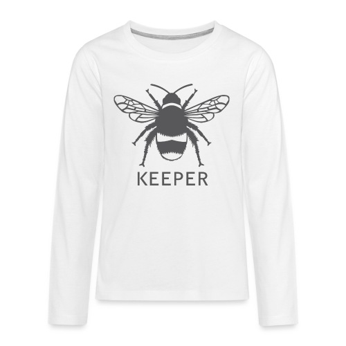 Bee Keeper - Teenagers' Premium Longsleeve Shirt
