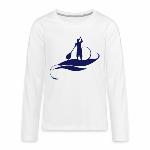 Paddle Man - T-shirt manches longues Premium Ado