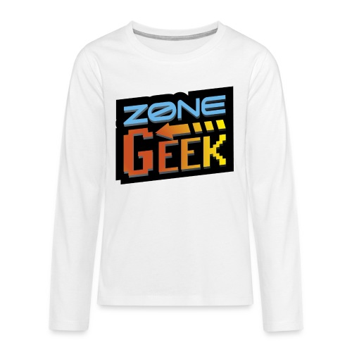 NEW Logo T-Shirt Femme - T-shirt manches longues Premium Ado