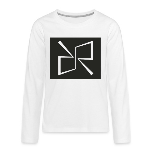 Rymdreglage logotype (RR) - Teenagers' Premium Longsleeve Shirt