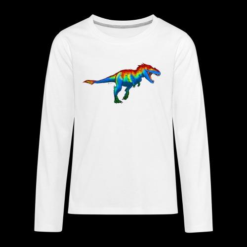 T-Rex - Teenagers' Premium Longsleeve Shirt