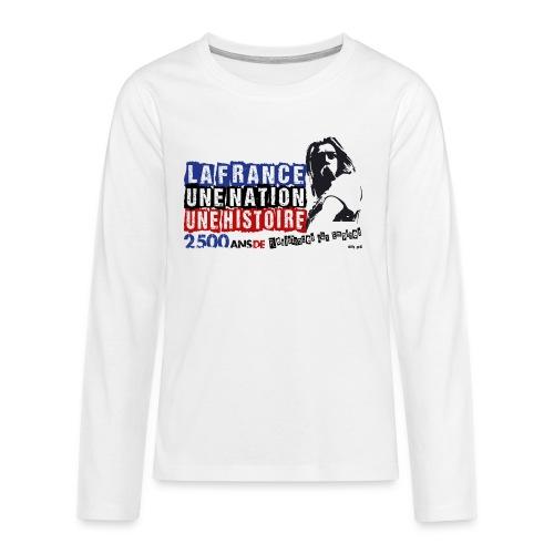 Vercingétorix - T-shirt manches longues Premium Ado