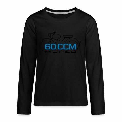 Moped sparrow 60 cc emblem - Teenagers' Premium Longsleeve Shirt