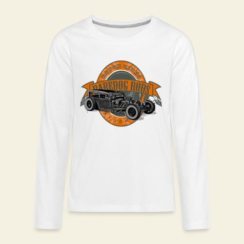Raredog Rods Logo - Teenager premium T-shirt med lange ærmer