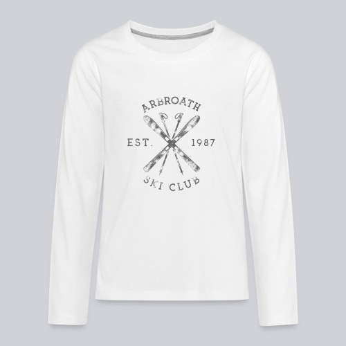 Arbroath Ski Club - Teenagers' Premium Longsleeve Shirt