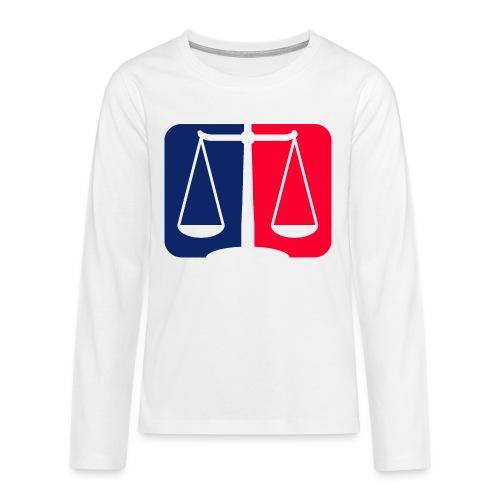 Logo2 - Teenager Premium Langarmshirt