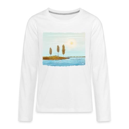 Herfst kleuren in Lapland - T-shirt manches longues Premium Ado