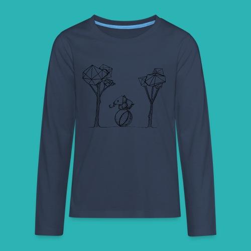 Rotolare_o_capitombolare-01-png - Maglietta Premium a manica lunga per teenager