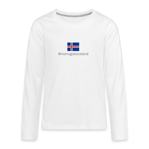 Iceland - Teenagers' Premium Longsleeve Shirt
