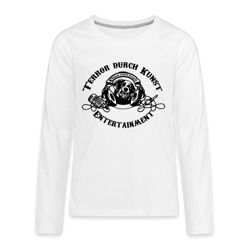 tdklogoschwarz 3 - Teenager Premium Langarmshirt
