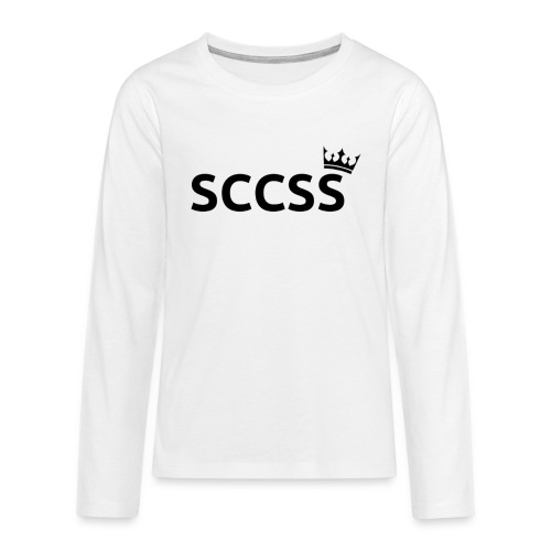SCCSS - Teenager Premium shirt met lange mouwen