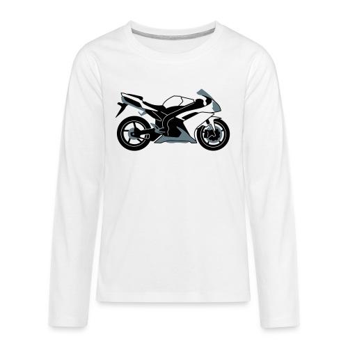 R1 07-on V2 - Teenagers' Premium Longsleeve Shirt