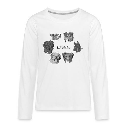 Tintti - Teinien premium pitkähihainen t-paita