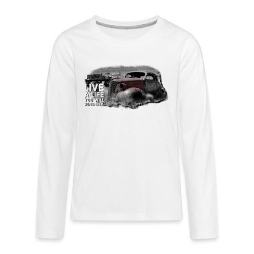 Live a life Oldtimer - Teenager Premium Langarmshirt