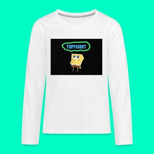 Topsight - Långärmad premium T-shirt tonåring
