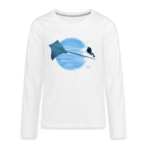 Pijlstaart rog - T-shirt manches longues Premium Ado