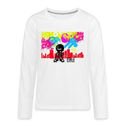 Cover cellulari personalizzate con foto Dancefloor - Maglietta Premium a manica lunga per teenager