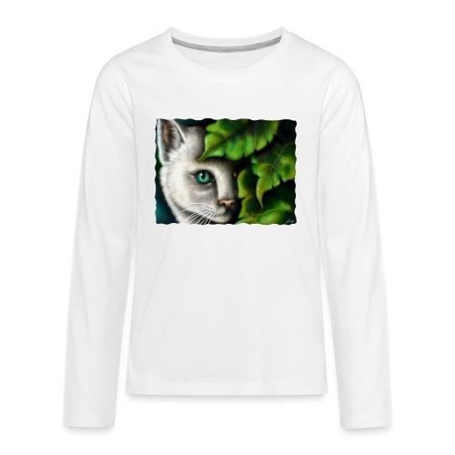 Gatto Shiva - Maglietta Premium a manica lunga per teenager