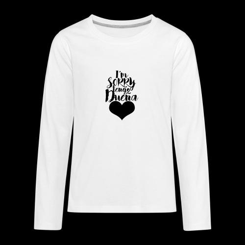 TENGO DUEN A 2 - Camiseta de manga larga premium adolescente
