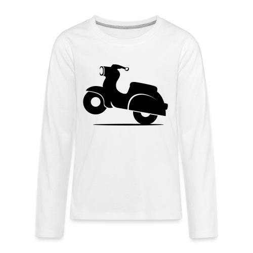 Schwalbe knautschig - Teenager Premium Langarmshirt