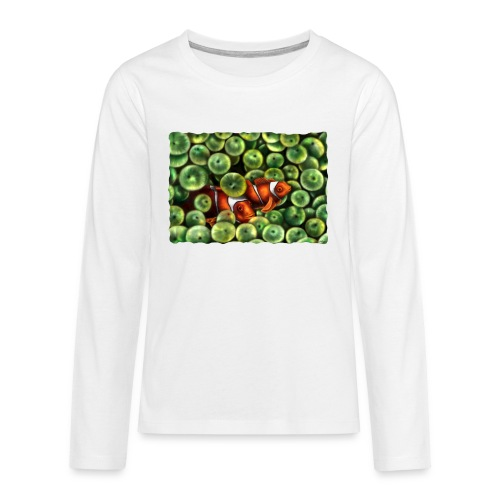 Pesci Pagliaccio - Maglietta Premium a manica lunga per teenager