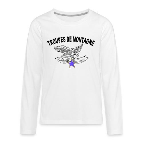 choucasTDM dos - T-shirt manches longues Premium Ado