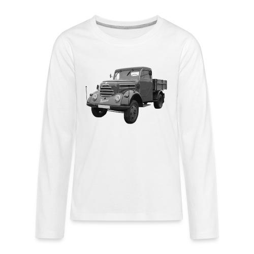 Garant K 30 Robur Zittau DDR Oldtimer Lkw - Teenager Premium Langarmshirt