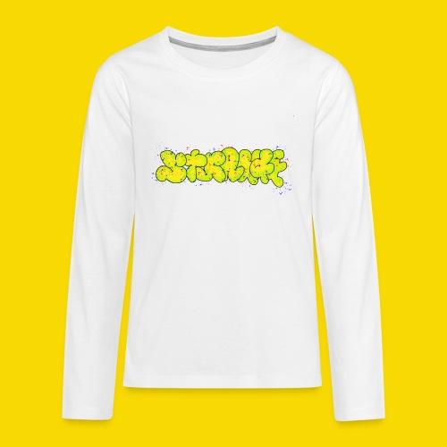 Strange Graffiti - Koszulka Premium z długim rękawem dla nastolatków