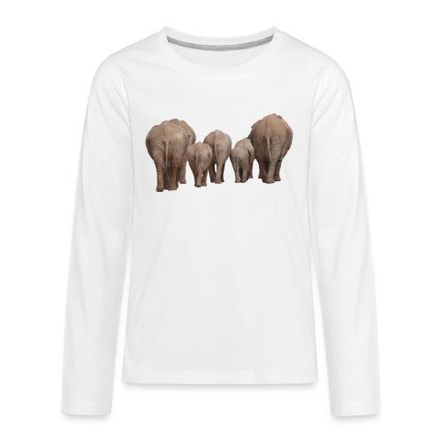elephant 1049840 - Maglietta Premium a manica lunga per teenager